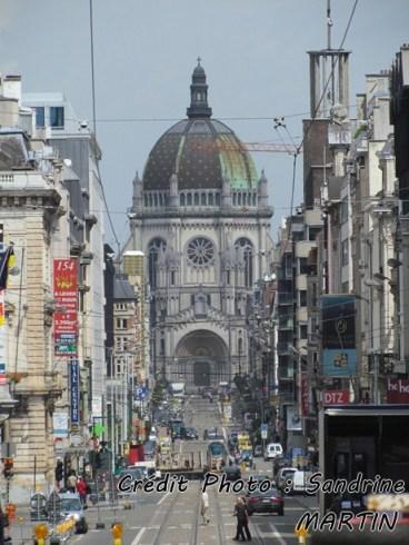 Bruxelles - l'église Royale Sainte-Marie