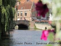 Gand - Sur les bords du canal