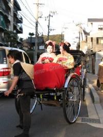 Kyoto - Au hasard des rues, Gaïsha