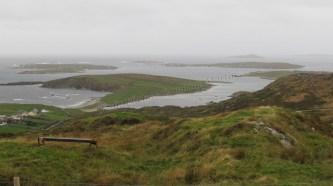 Lacs du Connemara, sur la route