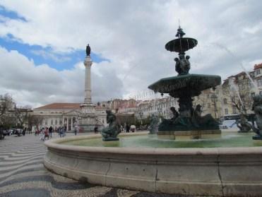 Lisbonne - Centre - Place Rossio