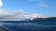 Lisbonne - Rivière Tage - Pont du 25 avril