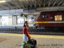 Namur - La gare, dans l'attente de mon train
