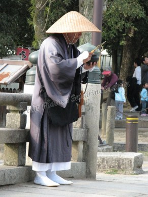 Nara - Temple de Todaiji, entrée