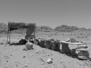 Pétra dans le désert
