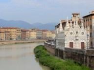 Pise - Rive de l'Arno - Santa Maria della Spina