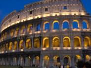 Rome antique - Le Colisée, extérieur