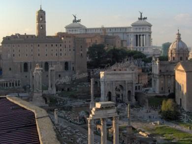 Rome antique depuis le Palatin