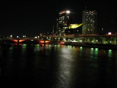 Tokyo - Asakusa - Vue depuis le pont Komagatabashi