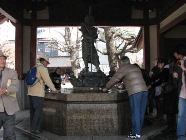 Tokyo - Asakusa - Temple de Sensoji, rituels