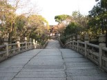 Tokyo - Mausolée de Nishi-Otani, entrée