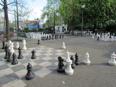 Genêve - Parc, échecs géants