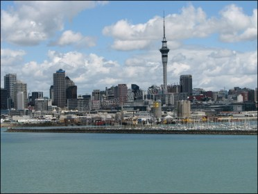 Auckland depuis le Harbour bridge