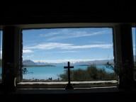 Lake Tekapo, depuis la chapelle