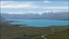 Lake Tekapo depuis Mount John