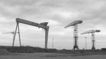 Belfast - Docks, lieu où le Titanic fût construit