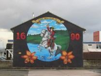 Belfast - 'Painting murals'