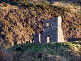 Edimbourg - Holyrood Park, ruines