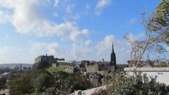 Edimbourg - Vue sur la ville depuis le musée national