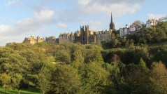 Edimbourg - West Princes street garden
