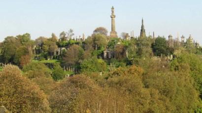 Glasgow - Cathédrale de Saint Mungo, cimetière