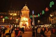 Glasgow - George Square, décorations de noël