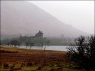 Sur la route - Kilchurn castle