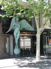 Melbourne - Au harsard des rues - Statue