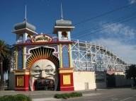St Kilda beach - Luna park