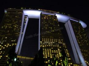Colonial district et les quais - Hotel 'Marina Bay Sands'