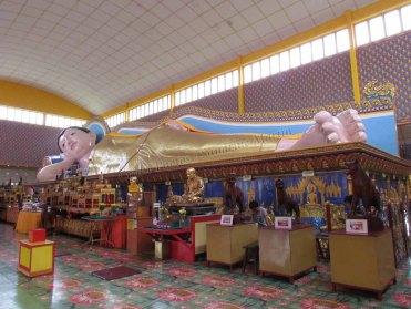 Ile Penang - Georgetown - Temple Wat Chayamangkalaram