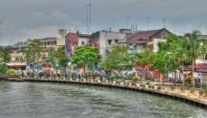 Malacca - Sur les bords de la rivière