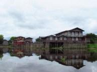 Lac Inle - Villages