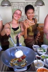 Bangkok - Ile de Rattanakosin - Classe de cuisine 'May Kaidee'