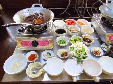 Bangkok - Ile de Rattanakosin - Classe de cuisine