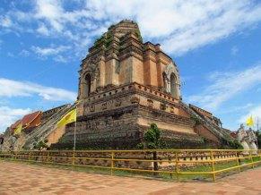 Chiang Mai - Temple 'Wat Chedi Luang', l'ancien