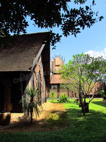 Chiang Rai environs - Black houses