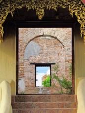 Lampang - Temple 'Wat Sri Choom', ruines
