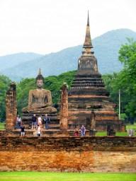Sukhotai - Parc historique - Temple 'Wat Mahathat'