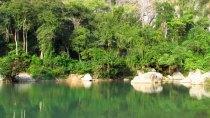 Thakek - The loop - Grotte 'Kong Lor', lac