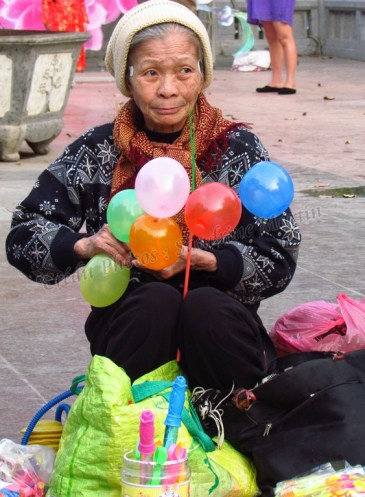 Hanoi - Festival Tet (nouvel an chinois), autour du lac 'Hoan Kiem
