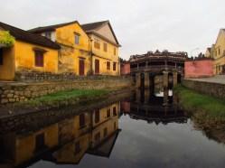 Hoï An - Vieux quartier, pont couvert japonnais