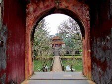 Hué - Tombeau de l'empereur Minh Mang