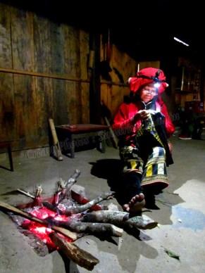 Sapa - Ta Phin Village - Homestay, locaux, couture