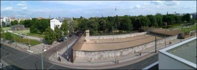 Berlin - Mur de Berlin comme il était à l'éppoque, mémorial