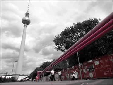 Berlin - Place Alexandre 'Alexanderplatz', tour de Berlin