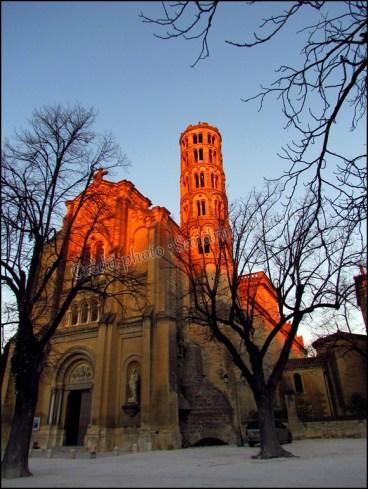 Gard - Uzès - Cathédrale Saint-Théodorit et tour Fenestrelle