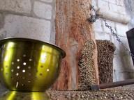 Lot - Rocamadour, Palais des Évêques de Tulle, chappelle, clous dorés