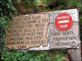 Pyrénées-Orientales - Ille-Sur-Têt - Les orgues, panneau