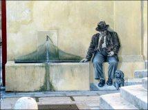 Vaucluse - Avignon - Au hasard des rues, trompe l'oeil